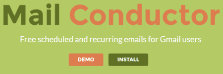 Mail Conductor for gmail