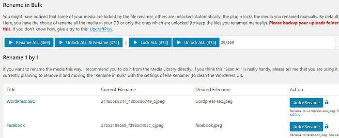 Automatically Rename Images in WordPress Media Library