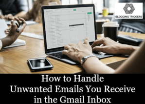 Junk emails Gmail