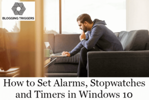 Alarms Windows 10