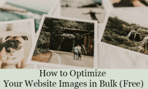 How to Optimize Your Website Images in Bulk (Free) 1