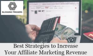 Affiliate marketing revenue