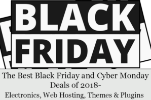The Best Black Friday and Cyber Monday Deals of 2018