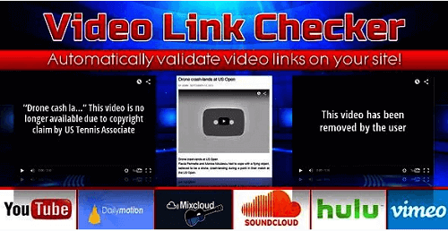 Video Link Checker