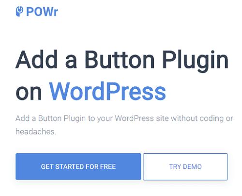 Button plugins for WordPress