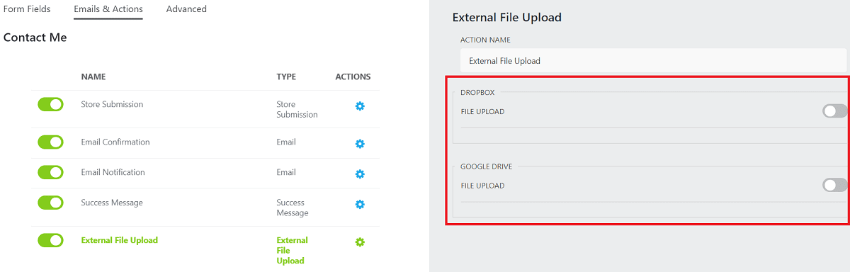 File Upload Ninja Forms