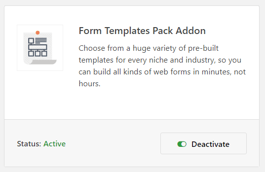 WPForms add-ons