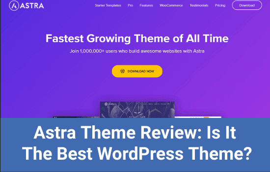 Astra Theme Review: Is It The Best WordPress Theme? 1