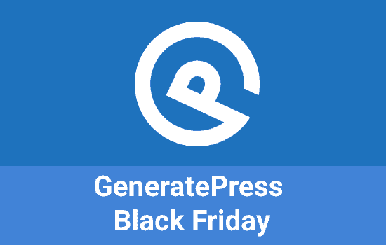GeneratePress-Black-Friday