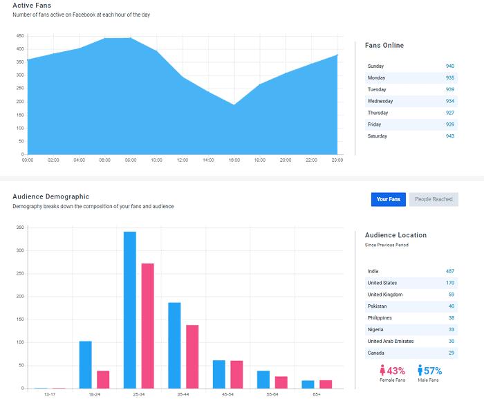 SocialPilot analytics