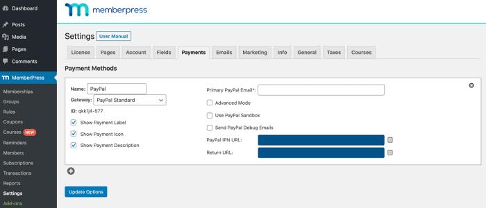 MemberPress-payment-settings