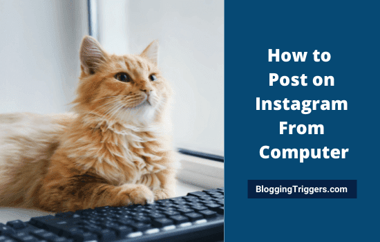 How to Post on Instagram From Computer