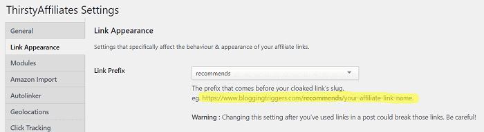 link cloaking